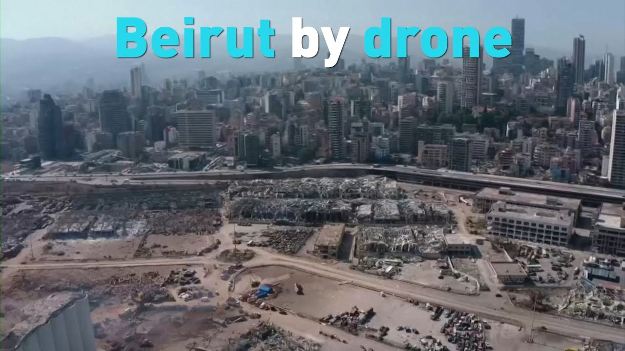 See Beirut by drone: After the explosion