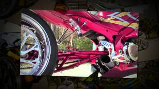 C And S Custom Wide Tire Kit (motorcycle Video)