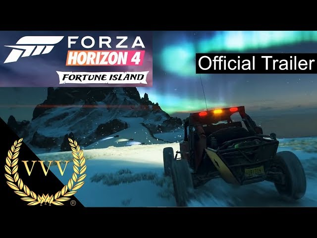 Forza Horizon 4 Fortune Island Gameplay Trailer