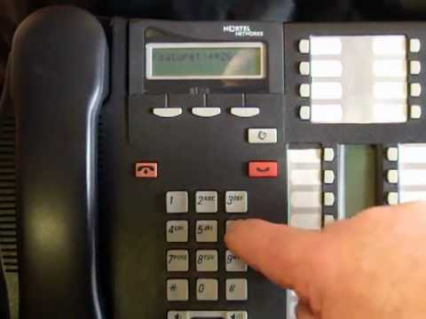 Changing the Directory Number of a Set - Norstar Business Phone Systems  Calgary