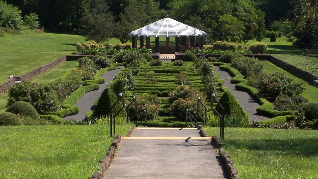 deep cut gardens offers european experience in middletown youtube