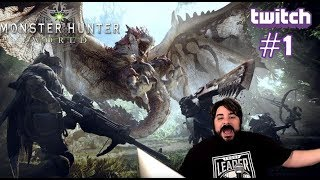 Game Rating Review Weekly TWITCH Stream: Monster Hunter World #1 (06/26/18)