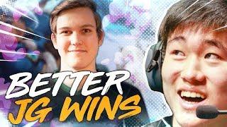 Pobelter   BETTER JUNGLER WINS Ft. Santorin
