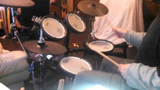 Johnny Smash Drum Cover     Pink  Sober