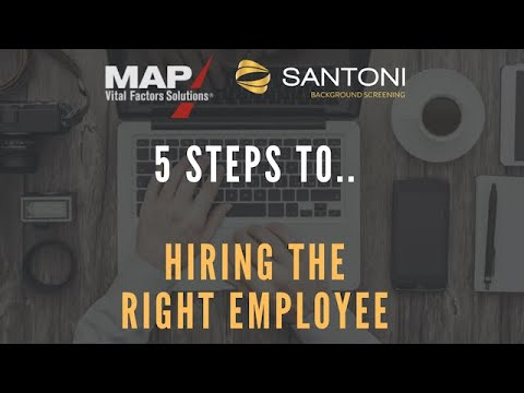 5 Steps to Hiring the Right Employee - Webinar