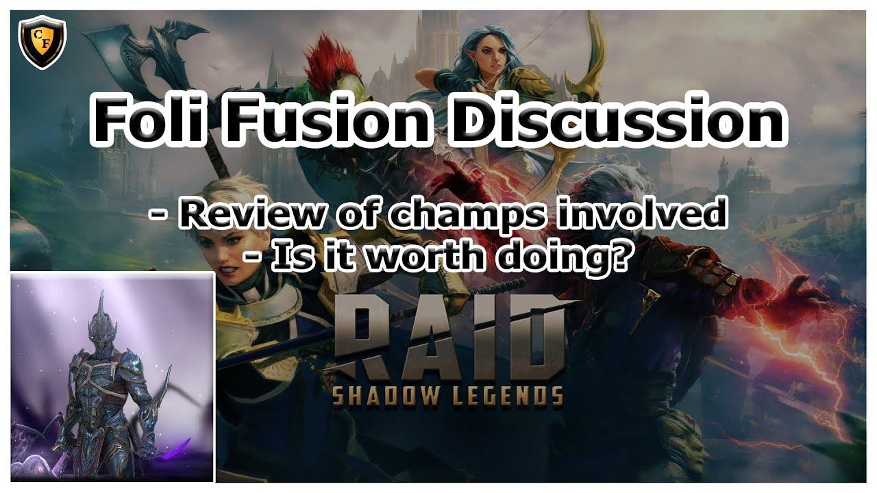 RAID Shadow Legends | Foli Fusion Discussion