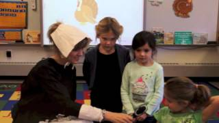 tana miller talks to the kids at centerville elementary in beverly ma one week before thanksgiving