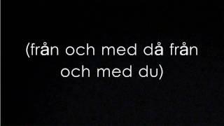 Oskar Linnros - Från och med Du Lyrics [HD]