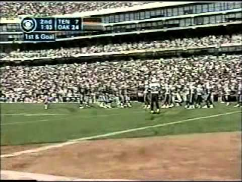 Raiders v Titans reg. season 2002