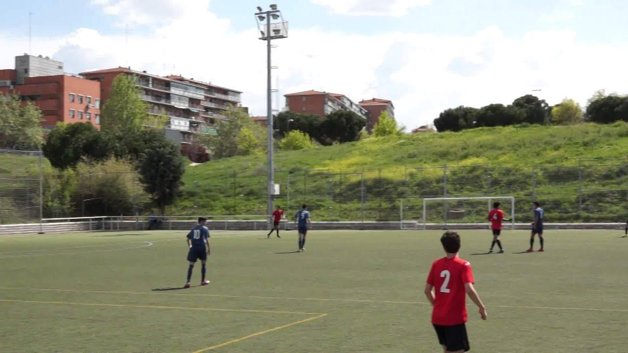 """Download A.D. SPORTING HORTALEZA """"C"""" 1-2 C.D. MORALEJA FUTBOL 11/04/2015 1ª PARTE Futbol"""