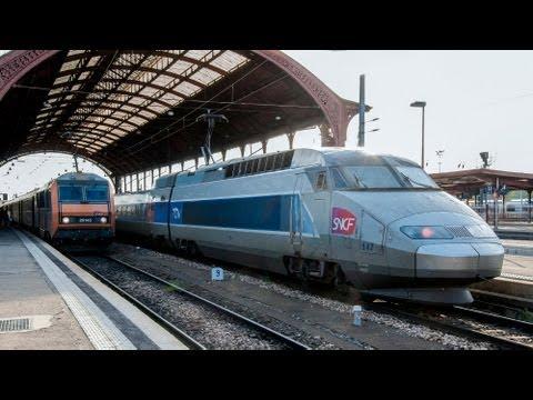 TGV SNCF Züge Trains (Part 2 / Teil 2)  à Strasbourg / in Straßburg