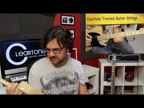 Cleartone Treated Guitar Strings