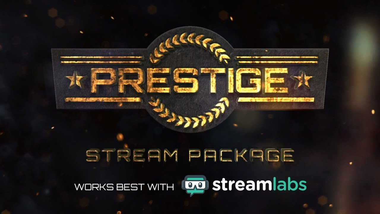 Prestige - Stream Package Overlay by Twitch Temple