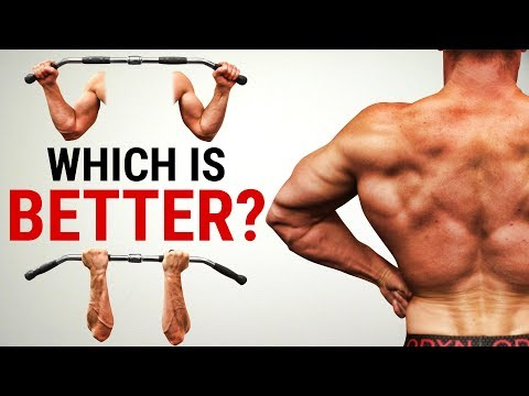 Underhand Vs Overhand Lat Pulldown   WHICH GRIP BUILDS A BIGGER BACK?