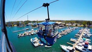 [4k] Bayside Skyride - SeaWorld (San Diego, CA)