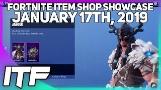 Fortnite Item Shop *NEW* JAEGER AND FYRA SKINS! [January 17th, 2019] (Fortnite Battle Royale)