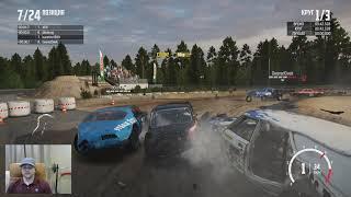 Wreckfest 2020 Finncross Circuit Прохождение Главной Трассы. Крутые Игра про Гонки на Автомобилях