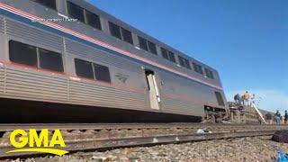Amtrak train derails in Montana | GMA
