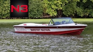 1986 Barefoot Nautique 2001 - On Water