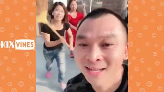 Funny videos 2018 ✦ Funny pranks try not to laugh challenge P47