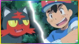 Pokemon Temporada 20 Sol y Luna  Ash Atrapa A Litten
