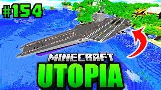 Mein 512-METER KAMPFSCHIFF?! - Minecraft Utopia #154 [Deutsch/HD]
