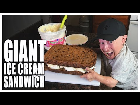Thumbnail: How to Make the Best Giant Ice Cream Sandwich | Verne Troyer