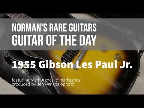 Norman's Rare Guitars - Guitar of the Day: 1955 Gibson Les Paul Jr.
