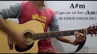 Chhod Diya (Bazaar) - Guitar Chords Lesson+Cover, Strumming Pattern, Progressions