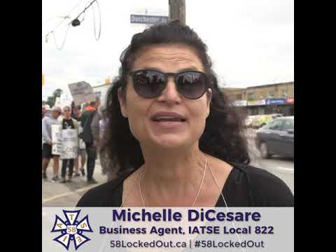 Michelle DiCesare | Business Agent IATSE Local 822
