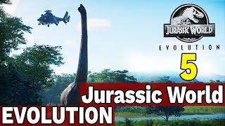 BRACHIOZAURY BYDLAKI!  - JURASSIC WORLD EVOLUTION