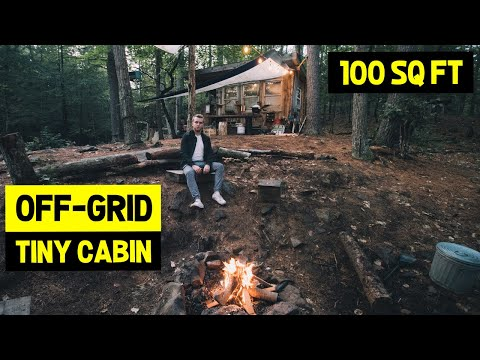 100 SQ FT OFF-GRID Eco-Friendly TINY CABIN! (60 Acres Of Private Land)