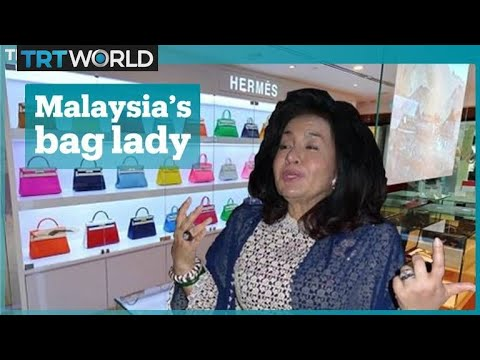 Malaysia's former first lady of bling