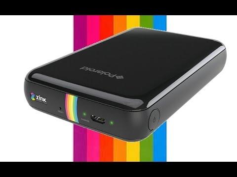 Polaroid Zip Mobile Printer Review Youtube