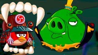 Хэллоуин в Энгри Бердс #136 Дракула свин против злых птичек. Кид играет в Angry Birds Epic