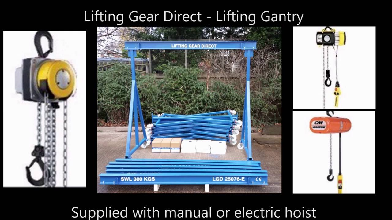 Lifting Gantry Systems | A Frame Gantry | Lifting Gear Direct