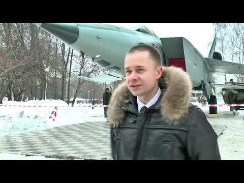 В Тверь для Парка Победы привезли самолёт МиГ-25