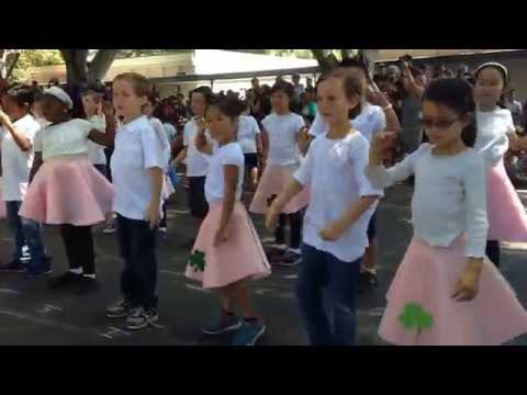 Clover Elementary School - Dance Festival 2014 - End of First Grade