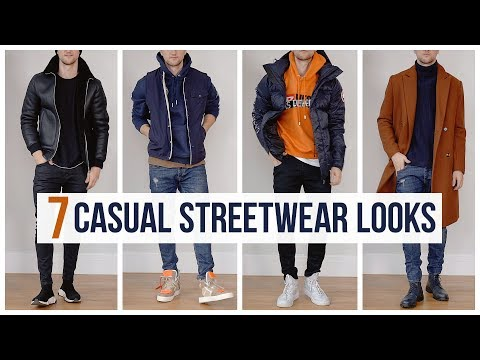 My Casual Streetwear Outfits for Fall Winter | Outfit Ideas | Men's Fashion Lookbook