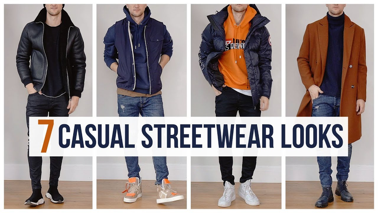 dee069a33 My Casual Streetwear Outfits for Fall Winter | Outfit Ideas | Men's Fashion  Lookbook