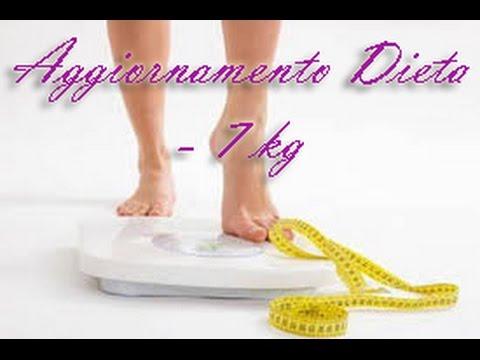 Aggiornamento Dieta #2 - ho perso 7 kg