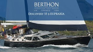 Discovery 55 (EUPRAXIA) Yacht for Sale - Berthon International Yacht Brokers