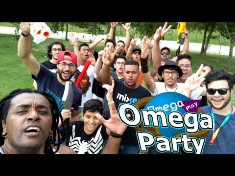 Omega Party: O rolê do Ano!!! Sword Play + Nerf = Battle Royal Real!!! Parte 1 - Omega Play