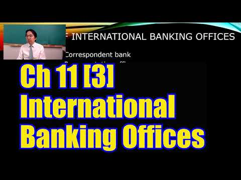 International Finance Ch11 [3/9] International Banking Offices