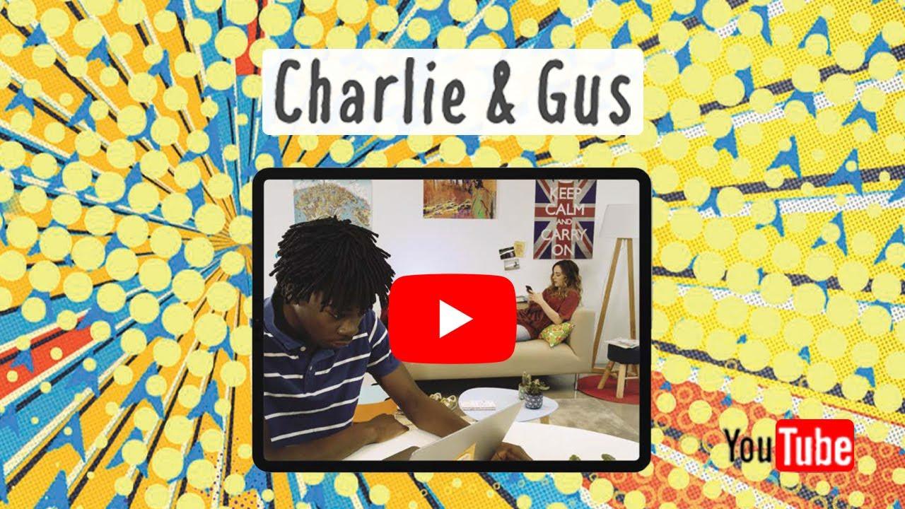 Découvrez Charlie & Gus : la Websérie pour les manuels de terminale STMG d'Hachette Technique