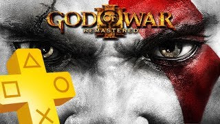 God of War III Remastered PS Plus Free Game From September 2018 until October 2018