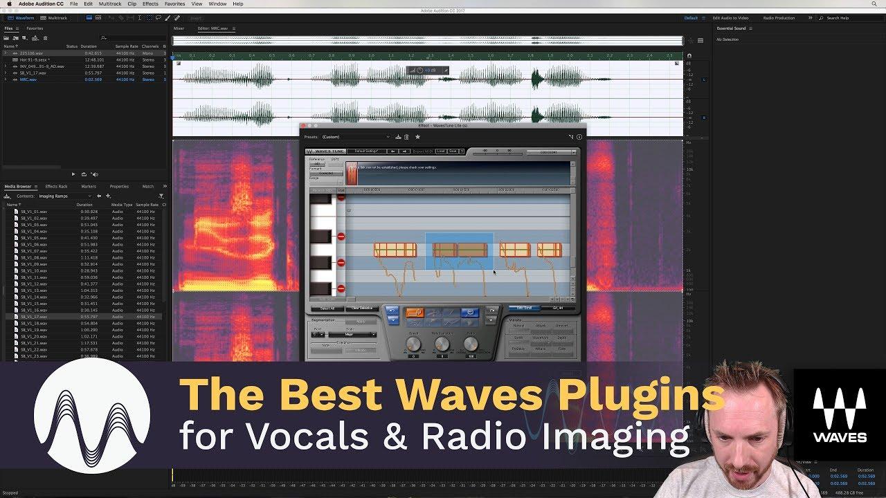 the best waves plugins for vocals and radio imaging youtube. Black Bedroom Furniture Sets. Home Design Ideas