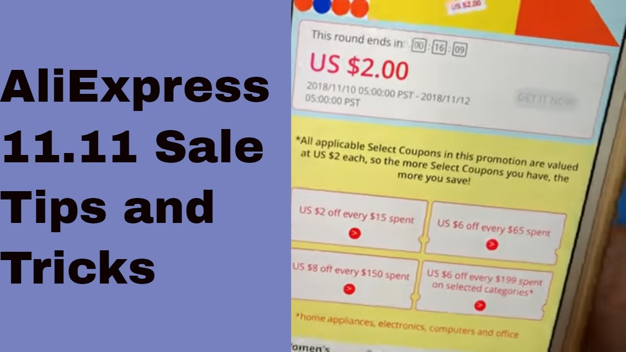 AliExpress Sale Tips and Tricks