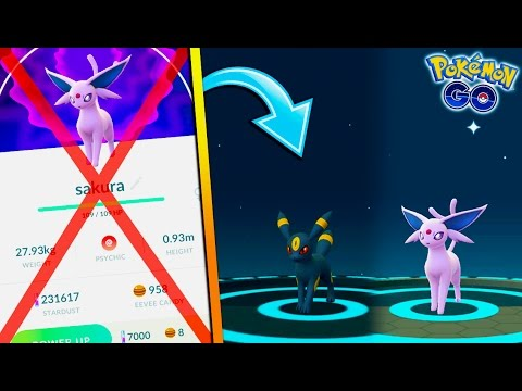 HOW TO GET UMBREON & ESPEON AFTER THE NAME TRICK IN POKEMON GO!