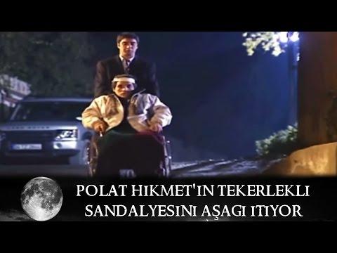 Polat, Hikmet'in Tekerlekli Sandalyesini Aşağı İtiyor - Kurtlar Vadisi 29.Bölüm